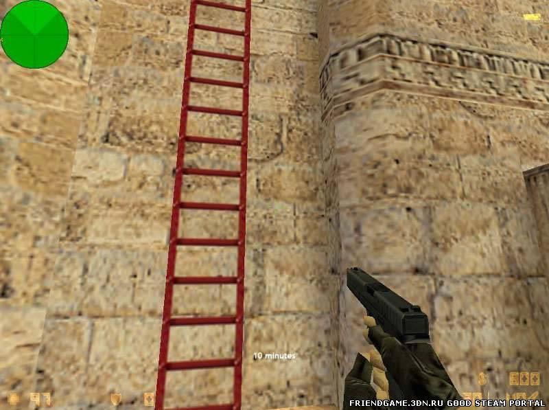 Как сделать лестницу для кс